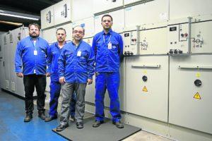 Time de Planejamento Industrial responsável pelas melhorias