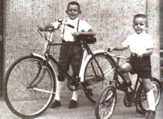 A infância de Wilsinho e Emerson. Imagem: acervo família Fittipaldi