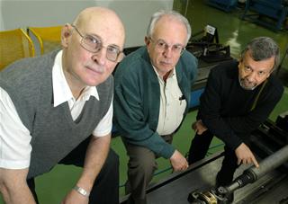 Erni Koppe, Benedito Santoro e Francisco D'Avila. Imagem: Edison Vara