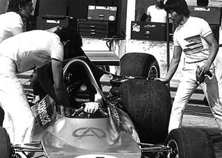 Interlagos, 19 de novembro de 1974: dia do primeiro ronco.  Imagem: acervo Lemyr Martins