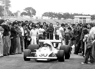 FD-02, após a primeira volta em Interlagos. Imagem: acervo Lemyr Martins