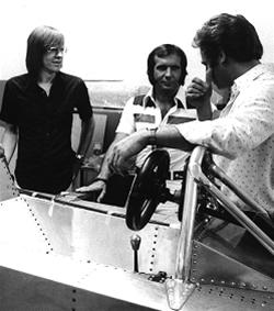 Divila, Emerson e David Baldwin. Imagem: acervo Lemyr Martins