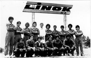 A primeira turma formada pelo Projeto Pescar (1976). Imagem: arquivo Projeto Pescar