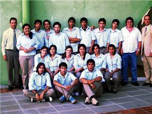 Uma das turmas formadas pelo Grupo Palmero - Argentina. Imagem: arquivo Projeto Pescar