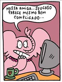 A Elefoa Cor-de-Rosa. Imagem: Divulgação