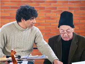 Tiago Flores e Geraldo Flach Imagem: Manuela Colla