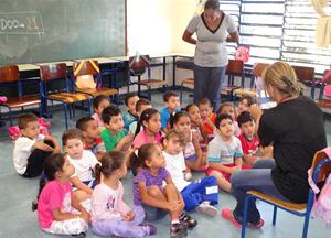 E a sala de aula transforma-se na melhor parte do dia Imagem: acervo ACER